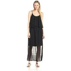 NY Collection sleeveless maxi dress with pockets